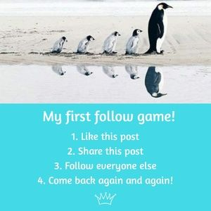 Other - COME FOLLOW MORE BLUES! 🐧👑 1st FOLLOW GAME!!!